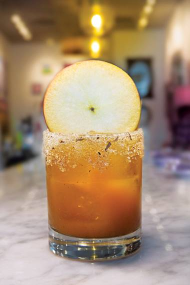 With cider and pumpkin butter, the libation really captures the essence of the season.