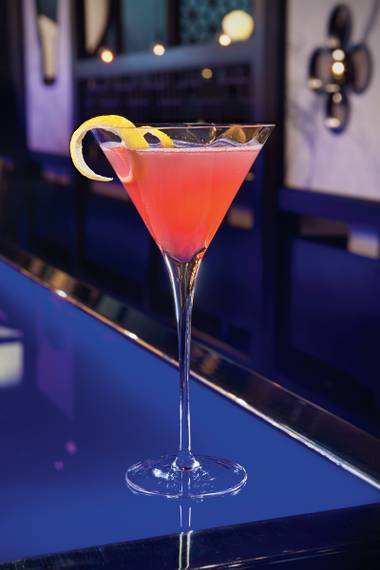 The cocktail was initially planned to celebrate October's Breast Cancer Awareness Month, but after rave reviews the libation has been added to Hakkasan's menu full-time.