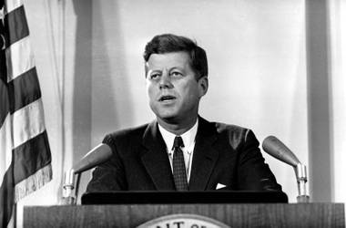 The Philharmonic commemorates the 50th anniversary of President John F. Kennedy's death with a program including Beethoven, Walker and Lieberson.