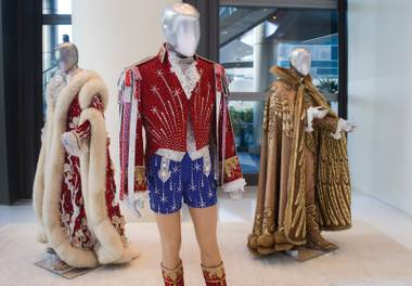 Liberace and the Art of Costume at Cosmopolitan shows all facets of the legend's wardrobe.