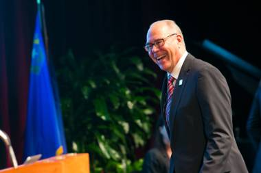 UNLV president Neal Smatresk announced this week his departure for a new presidential position at the University of North Texas.