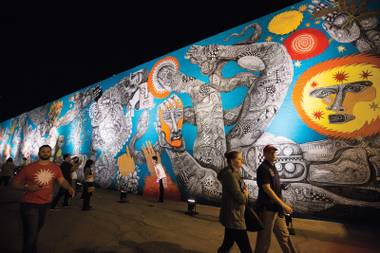 Walls of wonder: Life Is Beautiful left behind stunning murals—and a slightly cleaner, more cared-for Downtown.