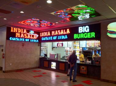 What, you don't eat at the Riviera food court?