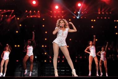 Beyoncé's back at MGM Grand for the second time this year, on December 6.