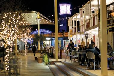 Downtown's Container Park celebrates its grand opening Thursday, December 5.