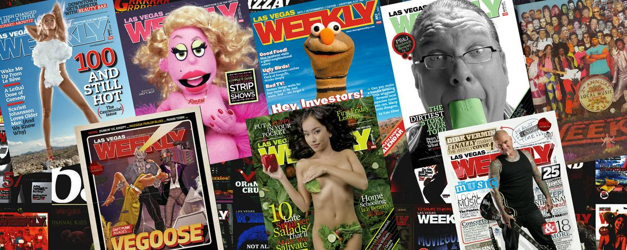 The 15th Anniversary Issue: A look back at the covers and stories that defined Las Vegas Weekly.