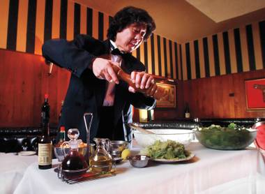 Tableside Caesar, anyone?